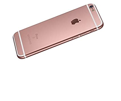 on sale 33bd8 192bc Apple iphone 6\6s Original look back cover Rose Gold: Amazon.in ...
