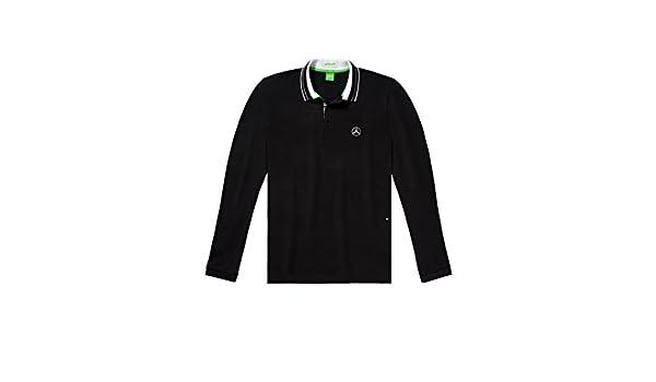 Hugo Boss Mercedes-Benz, Camiseta Polo Hombre Negro/Blanco, Negro ...