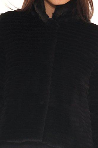 LuanaRomizi.com - Abrigo - para mujer negro