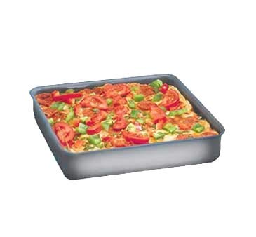Dish Hard Deep Coat Pan - Hard Coat Square Deep Dish Pan
