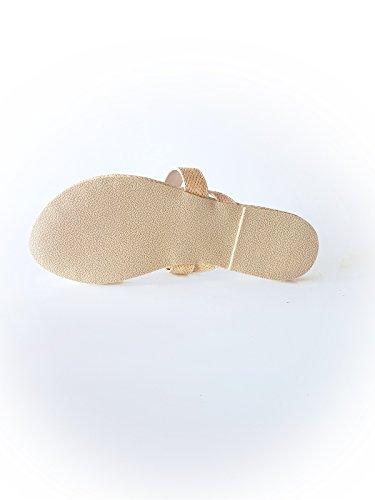 De Tamanho Castanho Sandálias Em Artificial 37 Gaastra Couro 6xzZxq45