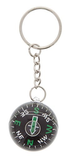 Ball Keychain Shaped - Rhode Island Novelty Ball Shaped Compass Keychain | Discontinued by Manufacturer