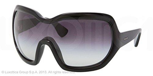 Prada Sunglasses SPR 05O BLACK 1AB-3M1 - Prada Goggles