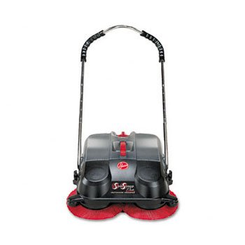 HOOVER SpinSweep Pro Outdoor Sweeper, Black (Case of 2)