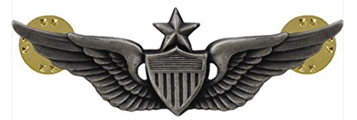 MilitaryBest Army Senior Aviator Badge Oxidized Finish
