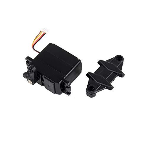 (Sdoveb Car 5-Wire Steering Gear Servo Repair Accessory Spare Part for XLH 9125 RC Car (Black))