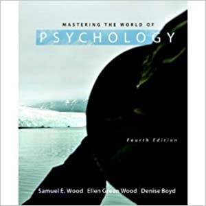 Book Mastering the World of Psychology (4th Edition)