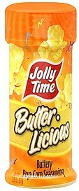 - Jolly Time - Butter Licious Reese Buttery Popcorn Salt (New Label but SAME Reese Ingredients, Product and Salt inside!), Buy SIX Jars and Save, Each Jar is 3.25 Oz (Pack of 6)