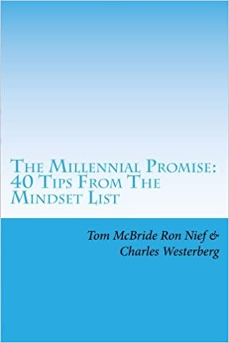 Book The Millennial Promise: 40 Tips From The Mindset List by Tom McBride (2016-07-29)