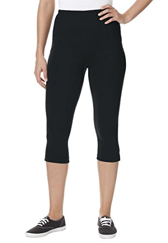 Womens Petite Capri Stretch Leggings product image