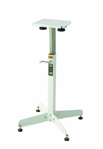 Bench Grinder Stand HTC HGP-10 Adjustable Bench Top Grinder Stand That has Rock Solid Stability