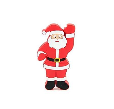 Microware 16 GB Santa Claus Raising Hand Shape Designer Pen Drive