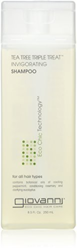 (Giovanni Invigorating Shampoo, Tea Tree Triple Treat, 8.5 fl oz Bottle)