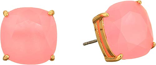 Kate Spade New York Women's Small Square Studs Earrings Meadow Pink One Size