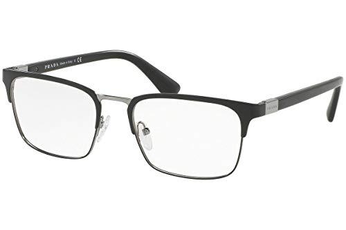 Prada PR54TV Eyeglass Frames 1BO1O1-55 - Matte Black ()