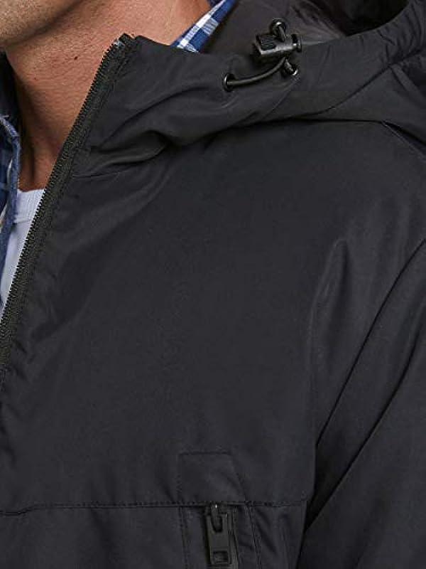 JACK & JONES Męska kurtka z kapturem na zimę: Jack & Jones: Odzież