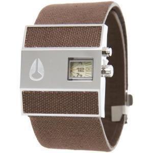 Nixon Rotolog Leather Watch Brown Tan  One Size