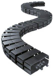 Bachmann 930.058 Cube - Sistema di gestione cavi, colore: Nero