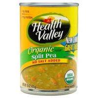 Health Valley Organic Soup No Salt Added Split Pea -- 15 fl oz