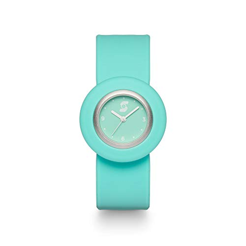 Slappie Women's Watch - Hypoallergenic Silicone Strap Quartz Water Resistant Wrist Watch - One Size Fits All for Daily Use