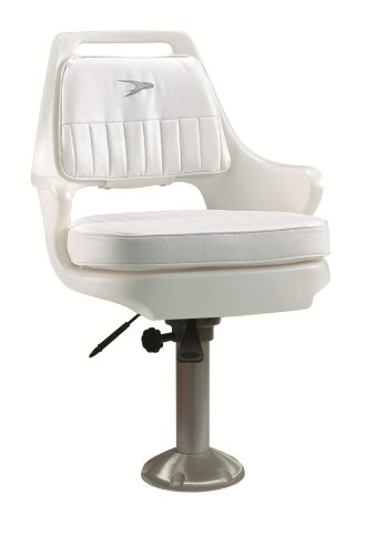 Wise 8WD015-710 Standard Pilot Chair with Fixed Height Pedestal and Seat Slide