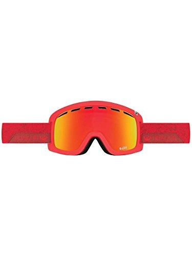 Dragon Alliance D1 OTG Stone Ski Goggles, Red (Dragon Goggles Lenses)