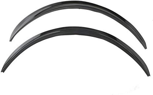 Xigeapg Universal Car Wheel Eyebrow Arch Trim Lips Flare Protector Black 4Pcs 42cm