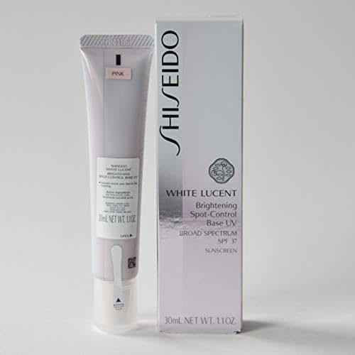 Shiseido White Lucent Brightening Spot-Control Base UV SPF35 PA+++ Sunscreen (Pink) 30ml / 1.1 OZ.