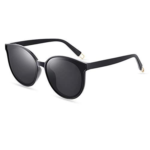 El Roja Marco Protección Tipo Gafas Femeninas Pantalla Black Sol Estrellas gray frame Polarizadas Gris Masculinas Negro Protector Y FKSW Gafas UV Solar De Gafas De Mismo qCwznZR