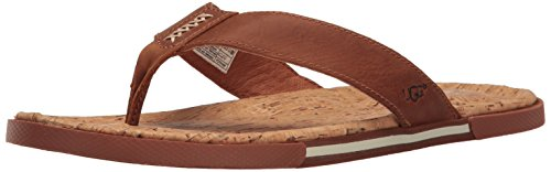 UGG Men's Braven Flip Flop, Tamarind, 14 M US for sale  Delivered anywhere in USA