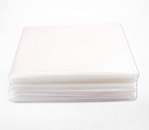 Carebio Plastic Sheeting for Body Wrap 47''x82'' Pack of 50 by Carebio