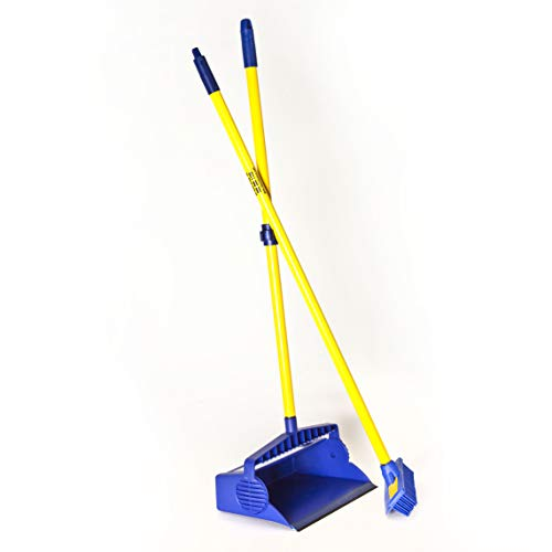 RUBBER SQUEEGEE/BROOM WITH DUST PAN SET