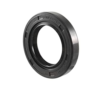 EAI Oil Seal TC 28X45X8 Rubber Double Lip with Spring 28mmX45mmX8mm