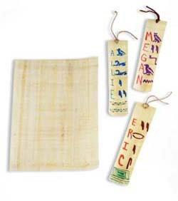 Egyptian Explorers Hieroglyphics Craft Kit makes 25 projects