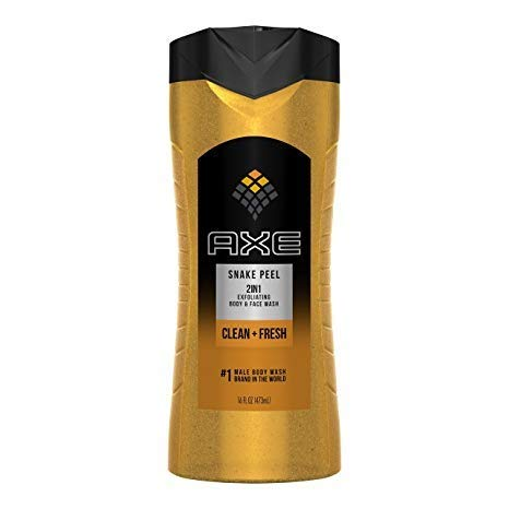 Axe Shower Gel, Snake Peel 16 oz Pack of 12