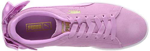 orchid JrSneakers Bow Fille Roseorchid 05 Basses Puma Suede BohQxdtsrC
