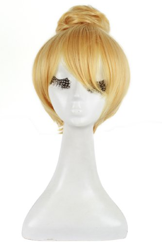 rolecos-womens-cosplay-costume-wig-short-straight-hair-synthetic-wigs-with-buns-blonde