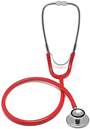 GJNVBDZSF Estetoscopio, Uso Doble, Doble Cara, Doble Cara, Estetoscopio médico Rosa púrpura, Primeros Auxilios con una Variedad de Colores Disponibles