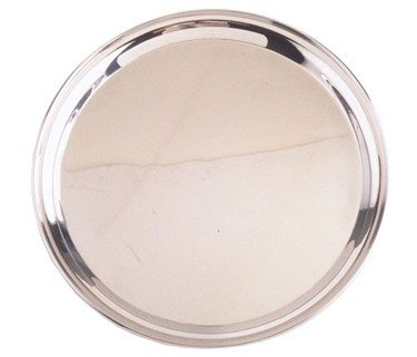 14 Inch Round Stainless Steel Serving Tray Amazoncouk