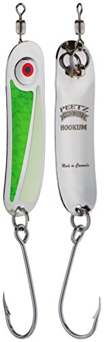 "PEETZ Outdoors ""Hookum"" Spoon Fishing Lure - Frogger 