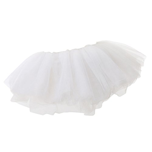 Jupe Danse Blanc Mini Adulte Tutu Gnrique Jupe Dentelle R75x1U8w
