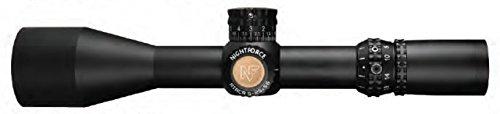 Nightforce Optics 5-25x56 ATACR Series Riflescope, Matte Black with DigIllum Illuminated SFP Mil-R Reticle, 34mm Tube Diameter, .1 Mil-Radian, Side Parallax Adjust