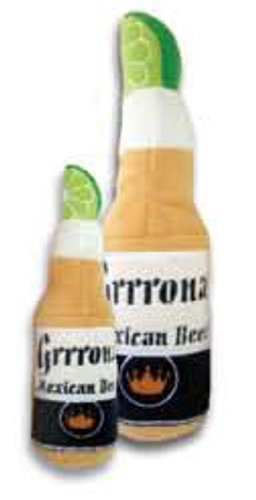 Grrrona Mexican Beer Plush Dog Toy Small