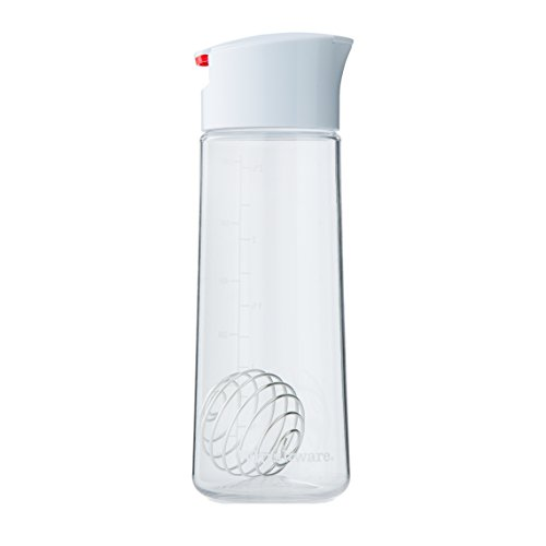 Whiskware Salad Dressing Shaker with BlenderBall Wire Whisk, (Wire Salad)