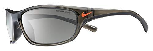 Nike Golf Men's Rabid Rectangular Sunglasses, Matte Deep Pewter/Total Orange Frame, 63 ()