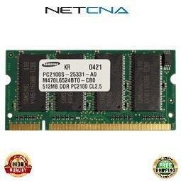10K0032 512MB IBM Compatible Memory Thinkpad A31 T30 DDR266 SODIMM 100% Compatible memory by NETCNA - Memory Sodimm A31