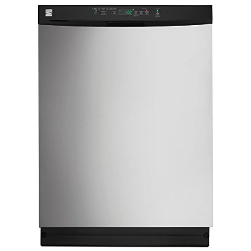 Kenmore 13093 24″ Built-In Dishwasher with Power Wave Spray Arm, Stainless Steel