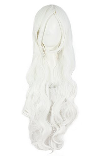 White Hair Wig (MapofBeauty 32
