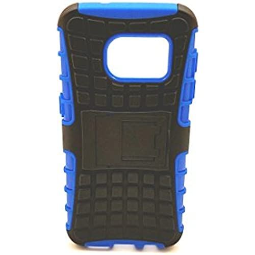 Galaxy S7 dual layer armor case with kickstand (blue) Sales