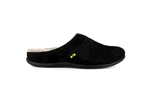 Nubuck Footwear Black Slipper Strive Vienna Orthotic cwTp1PxqH